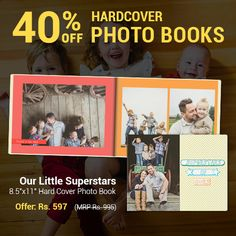 First steps, new words, and messy moments – every memory you have with your child is an amazing story. Capture the times you want to remember the most in a Photo Book they can look back on in the years to come. Order yours by 17th November with the code HCBOOK40 and get 40% off.