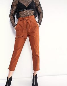 High waist combat pants - Clothing | Stradivarius Croatia