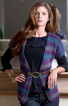 Evening Allure Sweater Knitting Pattern