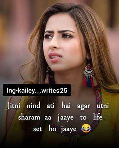 Cute Attitude Quotes, True Love Quotes, All Quotes, Amazing Quotes, Hindi Quotes, Best Quotes, Crazy Girl Quotes, Crazy Girls, Just Girly Things