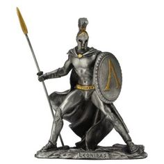 Zinnfigur Leonidas König von Sparta 11cm Darth Vader, Fictional Characters, Figurine, Fantasy Characters