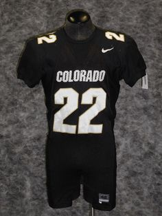 f561d0891aa University Of Colorado Buffaloes Vintage Game Used / Worn Jersey Chris  Brown.
