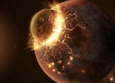 Giant impact hypothesis: Traces of Theia planet found on the Moon