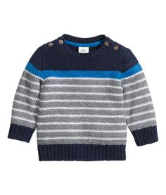Jumper in a textured knit | Product Detail | H&M