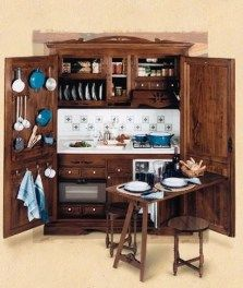 Superior Armoire Turned Mini Kitchen. Great For A Guest Room Or Finished Basement.  By Jen Munday   Basement Ideas   Pinterest   Mini Kitchen, Armoires And  Basements