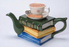 Books Teapot!