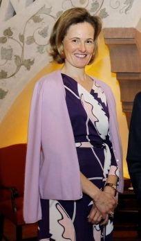 The Hereditary Princess of Liechtenstein, nee HRH Princess Sophie of and Duchess in Bavaria.  Great grandaughter of  Princess Rupprecht of Bavaria (nee Duchess Marie Gabrielle of Bavaria) to whom she bears a strong resemblance.