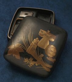 Lacquer box by Zeshin SHIBATA (1807-1891), Japan
