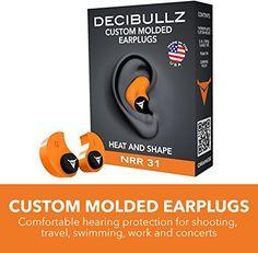 91 best ear plugs images on pinterest ear plugs earplug and plugs decibullz custom molded earplugs 31db highest nrr comfortable hearing protection for shooting travel sleeping swimming ccuart Choice Image