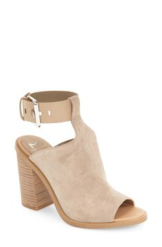 Marc Fisher LTD 'Vashi' Ankle Strap Sandal (Women) available at Suede Sandals, Suede Shoes, Flat Shoes, Shoes Sandals, Ankle Straps, Ankle Strap Sandals, Block Heel Shoes, Beautiful Shoes, Casual Shoes