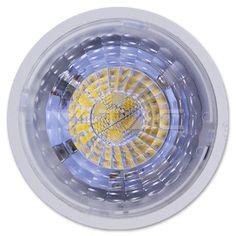 Lampadina LED faretto 7W GU10 Plastica con lenti Bianco caldo Dimmerabile  SKU: 1666 | VT: VT-2886D