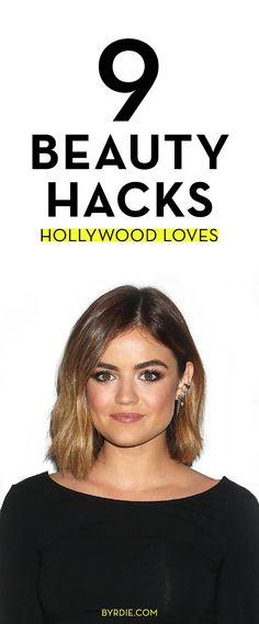 9 lazy-girl beauty hacks celebs swears by