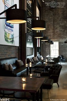 Neild Avenue | Sydney - I want to drink french press coffee or good wine in this space.