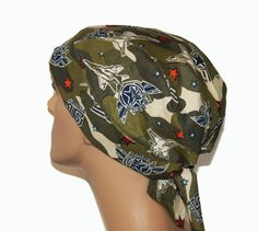 Blue Angels 15 doo rag by UniScrubCaps on Etsy, $7.99