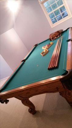 A Imperial International Billiards Eliminator Pool Table Sold - Eliminator pool table