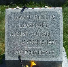 """H.P. Lovecraft - """"I Am Providence"""""""