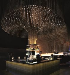 100 gems of remarkable design from the world's best, as defined by the Restaurant and Bar Design Awards. Lounge Bar, Lounge Design, Bar Interior Design, Restaurant Interior Design, Luxury Restaurant, Restaurant Ideas, Hotel France, Nightclub Design, Ocean Room