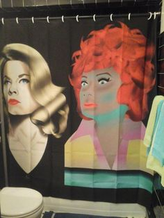 Image is Bewitched Shower Curtain. Endora Bewitched, Photoshop Help, Agnes Moorehead, Elizabeth Montgomery, Fabric Shower Curtains, Housewife, My Images, Horror, Disney Princess