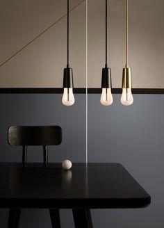 energy saving light bulb, model two, drop cap pendants
