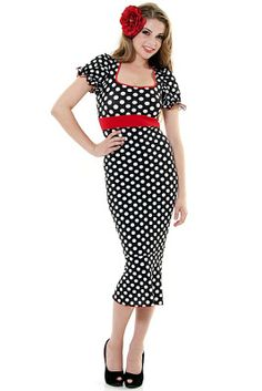 SAVVY CHIC, CANNY STYLE: Delightful Dresses: Wiggle Dresses from Unique Vintage