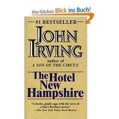 best book written by John Irving: The Hotel New Hampshire