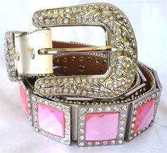 Two Cowgirls Jewelry - Rhinestone Belts - Odessa, TX