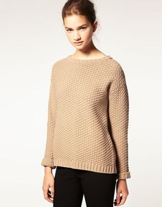 asos textured knit sweater