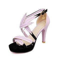 Women's Stiletto Heel Platform Pumps/Heels With Split Joint Shoes (More Colors) – USD $ 24.99