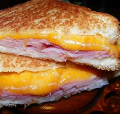 Toasted Ham and Cheese Supreme