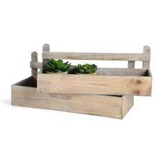 Holzbox Tannenholz natur ca L:24 x B:17 x H:8 cm