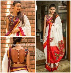 What better way than to add statement with a kalamkari blouse?! Checkout some gorgeous kalamkari blouse designs that will leave you awestruck.