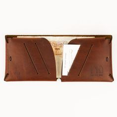 Origami Natural Leather Wallet