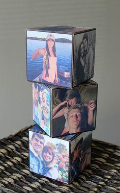 DIY Photo Cubes                                                                                                                                                                                 More