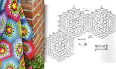 Ouvrages en Granny : modèles et grilles à imprimer !