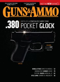 So here's the deal; the Glock 41 is a longslide .45, and the new Glock 42 is a .380. Let's consider them one at a time. Read more: http://www.gunsandammo.com/2014/01/04/revealed-glock-41-42-pistols/#ixzz2pU1xmJUt