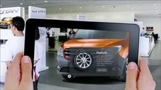 Making of Mercedes Citan Augemented Reality App. by Happy Finish.