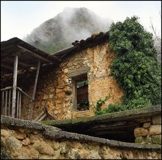 Abandoned farm in Greece
