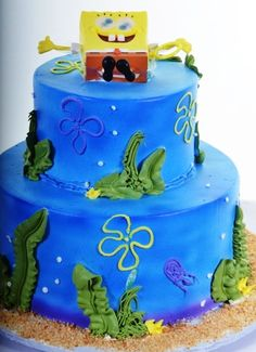 Sponge Bob | Kids Cakes | Pastry Palace Las Vegas Cakes