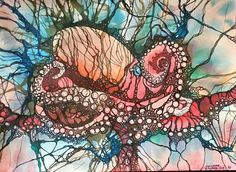 Check out this item in my Etsy shop https://www.etsy.com/listing/236440803/octopus-wwatercolor-pen-and-ink-detail