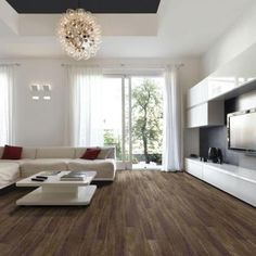 Home Legend Wire Brushed Hickory Grey 3/8 in. x 7-1/2 in. Wide x 74-3/4 in. Length Click Lock Hardwood Flooring (30.92 sq. ft./case)-HL318H - The Home Depot