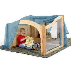 Infant & Toddler - Community Playthings Hideaway Cube - Louise Kool & Galt