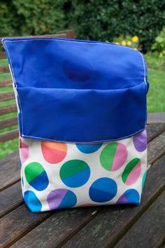 piecedgoods Reusable Sandwich Bag without velcrow