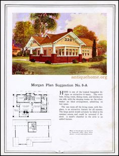 https://flic.kr/p/JDg5v6 | Morgan House Plan Suggestions::Building with Assurance | Building with Assurance - 1923 www.antiquehome.org