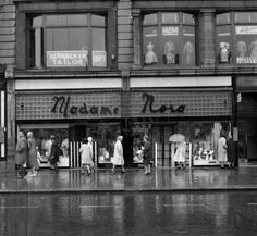 Madame Nora of O'Connell Street Dublin. Oh, the mortification of walking in there to get your underwear. Sales assistant that called you Modem in a phoney rich voice. The best place for well fitted undergarments though. Molly Malone, Ireland Homes, Dublin City, Dublin Ireland, Book Of Life, Old Photos, The Good Place, Explore, Ivy Rose