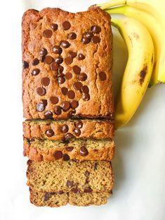 Chickpea Flour Bread, Chickpea Flour Recipes, Flours Banana Bread, Vegan Banana Bread, Best Banana Bread, Chocolate Chip Banana Bread, Banana Bread Recipes, Keto Bread, Banana Bread Brownies