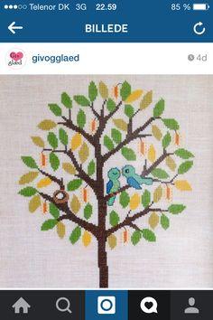 Fugle i træ