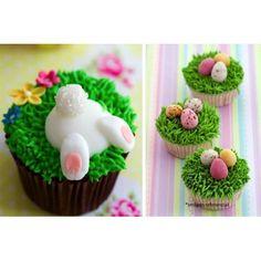 Curso cupcakes de Pascua de Resurrección