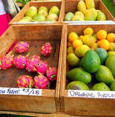 Silver Pencils: Hawaiian Farmer's Markets