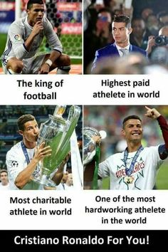 Because you are awesome salute to you ronaldo 😘😘 Soccer Memes, Soccer Quotes, Football Memes, Sports Memes, Funny Sports, Sport Quotes, Football Shirts, College Football, Cristiano Ronaldo Quotes