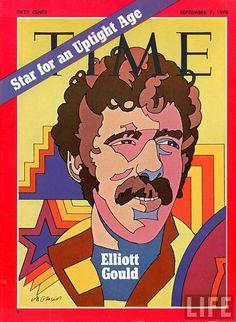 cMag392 - Time Magazine Elliot Gould cover by Milton Glaser / September 1970                                                                                                                                                                                 Plus